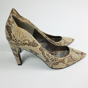 "Sam Edelman Sadi Size 11 M Snake Pumps 4.25"" Heels"